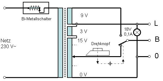 Modellbahntrafo liefert nur Wechselstrom